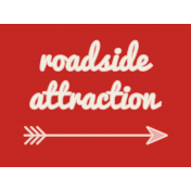 Road Trip Journal Card- Roadside Attraction