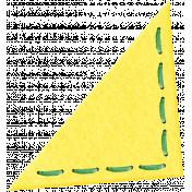 Yellow Felt Corner