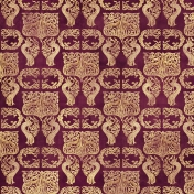 Ornamental Paper 38- Purple