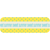 Sweet Summer Label