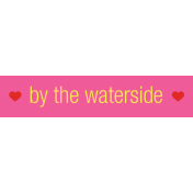 Sweet Summer Waterside Label