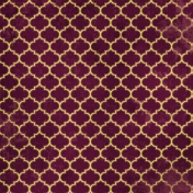 Quatrefoil 06- Purple