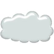 Plastic Puffy Cloud