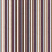 Stripes 106 Paper- Purple & Tan