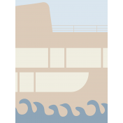Cruising Journal Cards- Cruise Ship 1