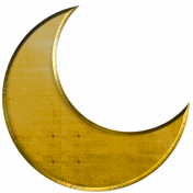 Gold Moon Shape