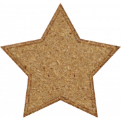 Chipboard Star