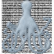 Cruising Elements- Felt Octopus