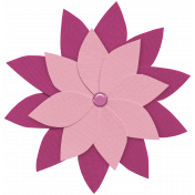 Cruising Elements- Pink Flower