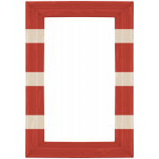Cruising Elements- Red & White Striped Frame