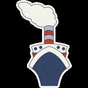 Cruising Elements- Ship Sticker