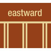 Road Trip- Eastward Label
