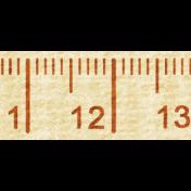 Road Trip- Tape Measure Trim