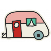 Road Trip- Trailer Sticker
