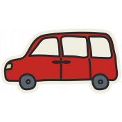 Road Trip- Van Sticker