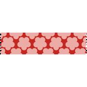 Road Trip- Pink Flower Washi Tape