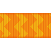 Medium Ribbon- Chevron- Orange
