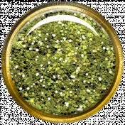 Bedouin Glitter Brad- Green