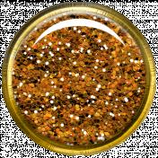 Bedouin Glitter Brad- Orange