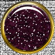 Bedouin Glitter Brad- Purple