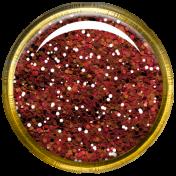 Bedouin Glitter Brad- Red