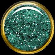 Bedouin Glitter Brad- Teal 2