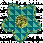 Bedouin Glitter Flower 07