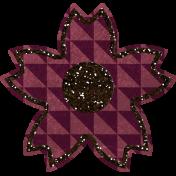 Bedouin Glitter Flower 09
