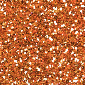 Garden Party- Orange Seamless Glitter