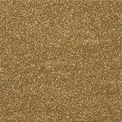 Garden Party- Gold Glitter Paper
