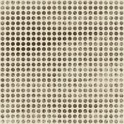 Polka Dots 06- Brown & White