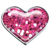 Garden Party Heart Brad- Pink