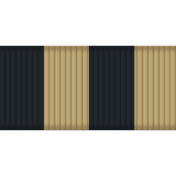 Thin Ribbon - Stripes 01 - Tan & Navy