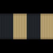 Thin Ribbon- Stripes 01- Tan & Navy