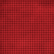 Argyle 13- Red