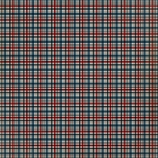 Plaid 02 - Blue & Red