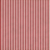 Stripes 54- Red & White
