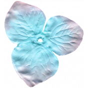 Garden Party Silk Flower- Blue