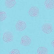 Garden Party Floral Paper- Blue