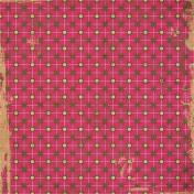 Stars Pattern Paper- Pink