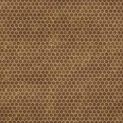 Geometric 13- Brown