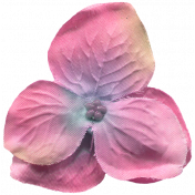 Garden Party Silk Flower- Dark Pink
