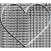 Garden Party Heart- Wire