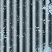 Stripes 54- Blue & Black
