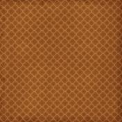 Quatrefoil 02- Brown