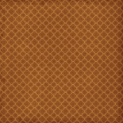 Quatrefoil 02- Brown
