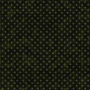 Polka Dots 15- Black & Green