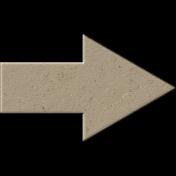 Chipboard Arrow