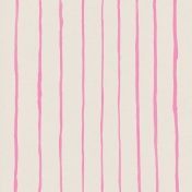 Garden Party Painted Stripes Paper- Pink