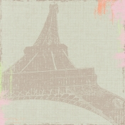 Meet Me In Paris- Eiffel Tower Paper